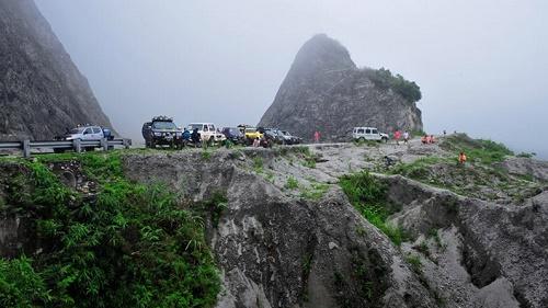 Đèo Thung Khe trên đường đến Mai Châu