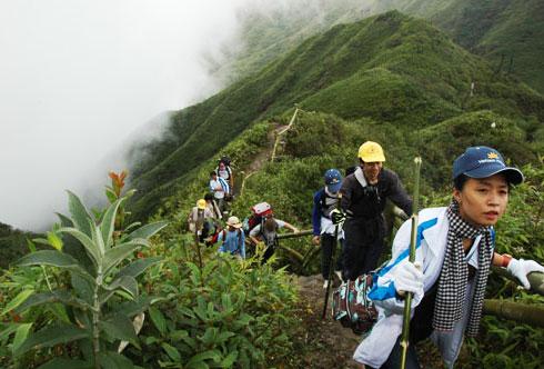Chinh phục đỉnh Phan-xi-pang