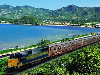 Hành trình chuyến tàu đi du lịch Đà Nẵng